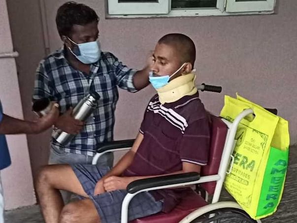 Help Gowtham To Recover From Accidental Injuries & Help For His Family