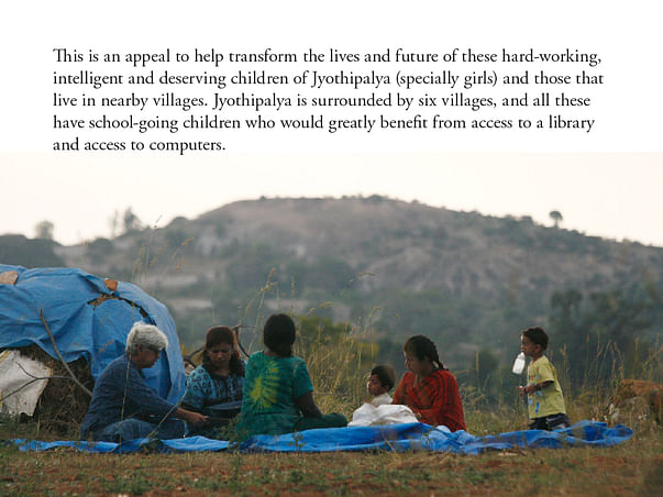 Ajji's Learning Centre 4 Youth of Jyothipalya & Surrounding Villages