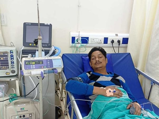 Help Gajendra Father Of Three Survive Kidney Failure