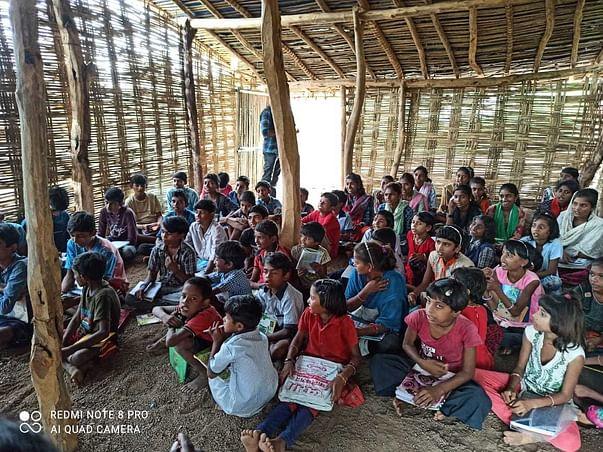 Support For Tribal School At Shirpur Maharashtra