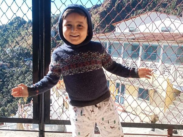 6 Years Old Arhaan Khan Needs Your Help Fight Brain Tumor