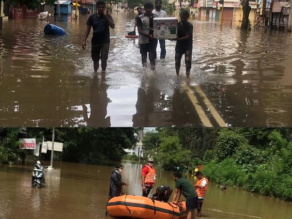 Rescue Boat For Animal During Floods