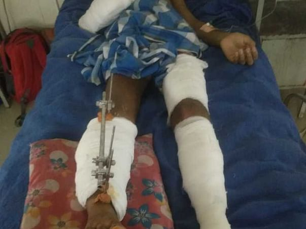 Please Help Ameen Ahmed For Living