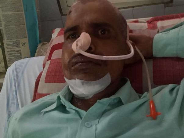 Support My Friend Akil Ahmed To urgent surgery Throat Cancer Treatment