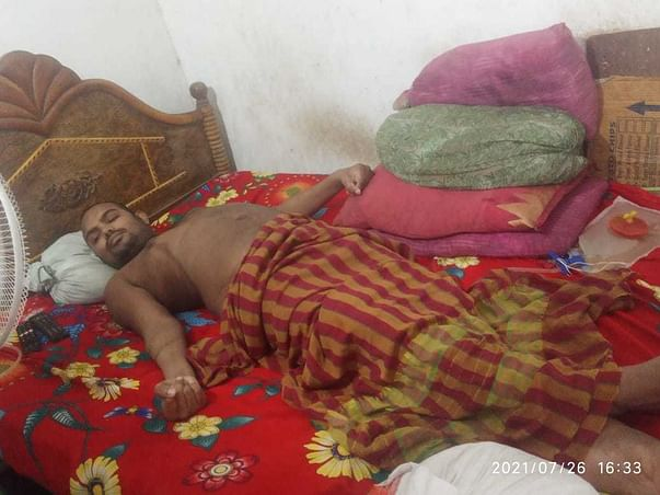Support Jagadeesh To Recover From Accident & Handicap