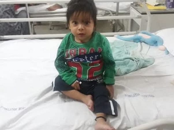 Help 2 Years Old Ayansh To Recover From Liver Damage