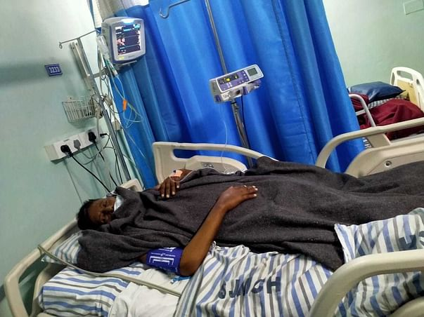 Help Radhakrishna Recover From Spinal Cord Injuries