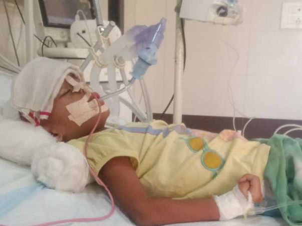 Help Needed For 3 Years Old Kavya. Please Save Her