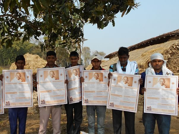 Support 74 Years Old Gandhian Resume Peace Building Post Covid Trauma