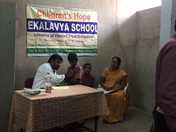 E-Learning for children of Ekalavya Schools
