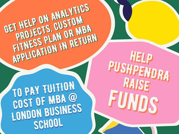 Help Raise 40% Funds To Study At London Business School, Uk
