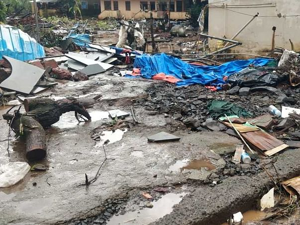Help The Flood Victims For Their Losses In Konkan