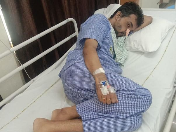 Please Support Bhabani Shankar Panda Fight Mouth And Throat Cancer