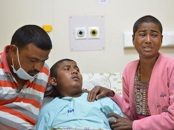 17 Years Old Vivek Needs Your Help Fight T-Cell Acute Lymphoblastic Leukemia