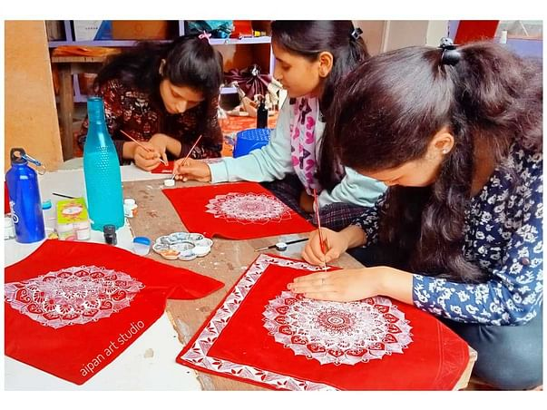 Protect The Dying Kumaon Art Form 'Aipan Art Studio'
