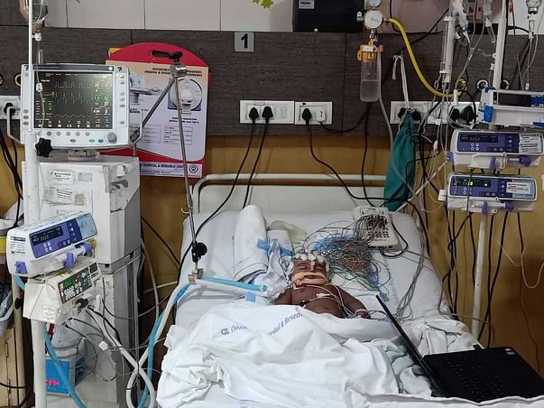 Help Jahnvi To Recover From Accidental Injuries