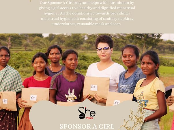 Sponsor a girl and help her lead a hassle-free menstrual life