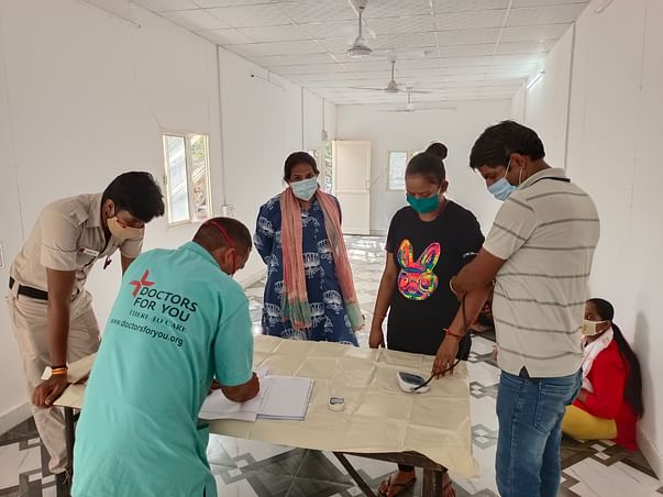 Kat-Kalrav 2021 - Health Camp for Sex workers and their children
