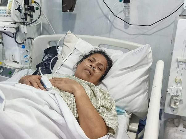 Support My Mother Padmini Dey To Recover From Uterus Cancer