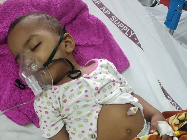 Support My 15 Months Old Child, Recover From Brain Disease.