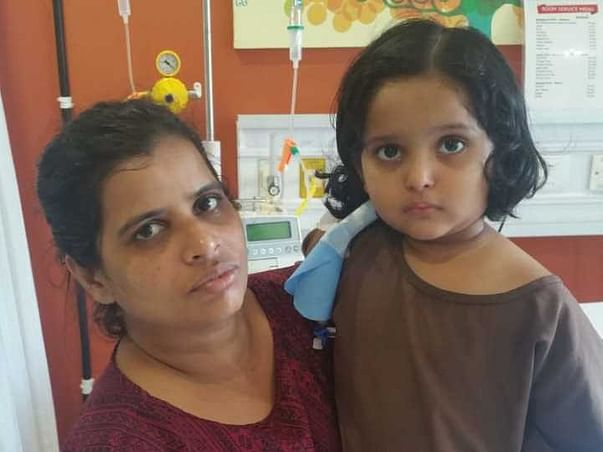 3 Years Old Penelope Skye Fernandes Needs Your Help Fight Blood Cancer