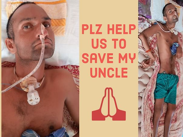 My Uncle Is Suffering From Full Body Paralysis, We Need Urgent Help