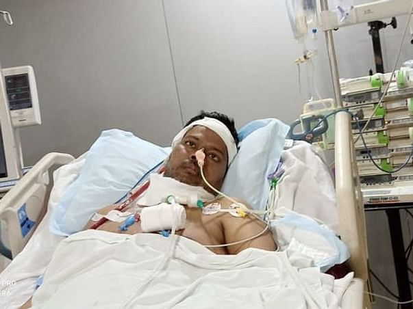 Support Mr. Gaurav Srivastava's ECMO And Lung Transplant Expense