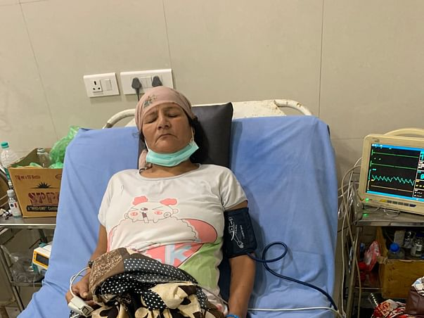 Help My Mother in law Recover From Calcified lesion