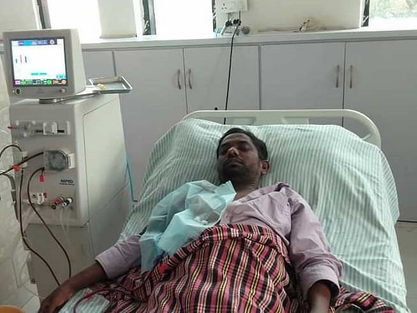 Support Shiva Goud Recover From Kidney Failure