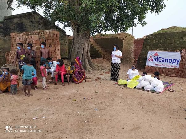 Aidcanopy Foundation - Free Medical facilities for brick field workers