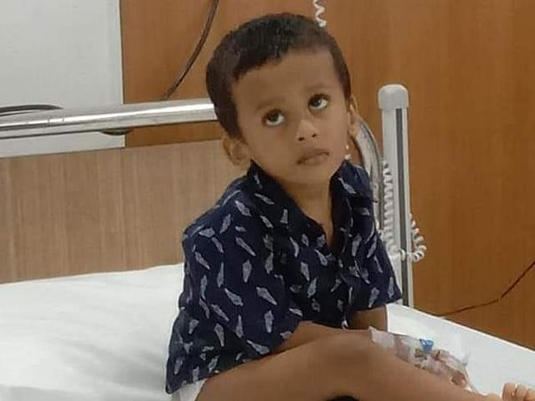 Support Kalyan Moy Das Recover From Neuroblastoma