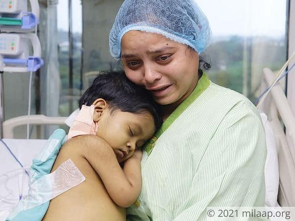 3-YO's Liver Has Failed Beyond Repair, He Needs Urgent Transplant!