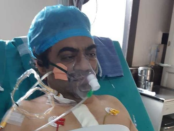 This 42 years old needs your urgent support in fighting Coronary Artery Bypass Graft (CABG) - Bypass Surgery
