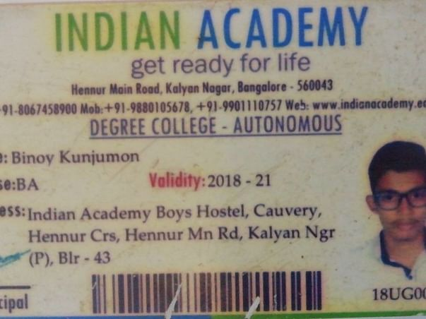 Help Binoy To Pay His College Fees