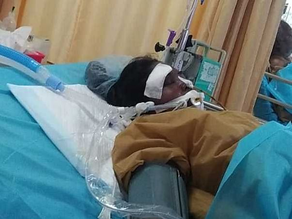 Help Dhanalakshmi RTA With Sustained Head Injury
