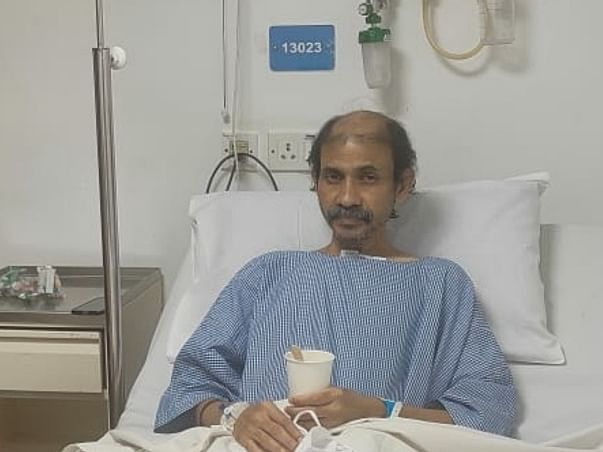 Support Ravi Krishnamurthy To Fight Oesophageal Carcinoma