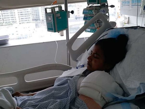 Support My Wife Sunita Vijaydev Navik To Recover From Accidental Injuries