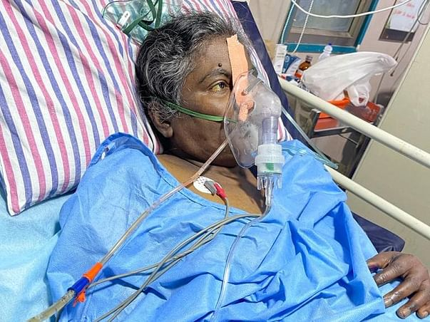 55 Years Old Jeyakanthi Needs Your Help Survive Liver Transplant