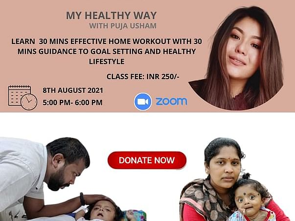 Help Puja Raise Funds For Baby Janish