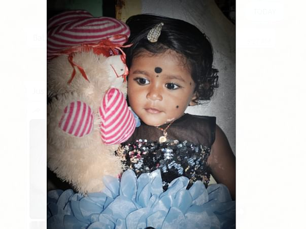 2 Years Old Mahanvitha Bonthala Needs Your Help Fight Blood Cancer