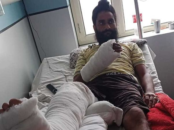 Support Mr Buta Singh Recover From Accident Multiple Injuries