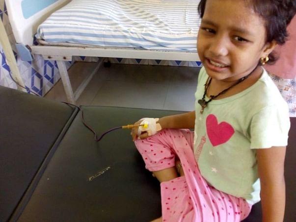 Help My Niece Shanmukha Priya To Recover From Thalassemia