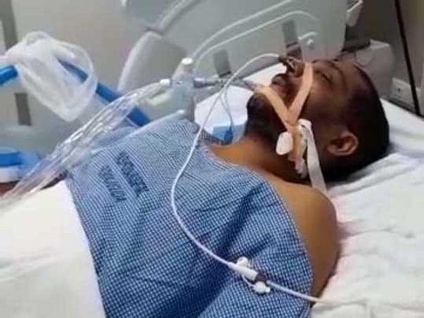 Help my Bro.in Law Mr.A.Hari Kiran fighting Post Covid - Lungs Inf.90%