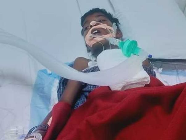 Help Karthik Recover From Brain Tuomar and Lung Infection