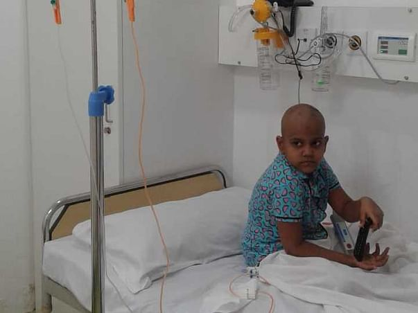 Help Deekshitha Aged 6 To Fight Against Bone Cancer