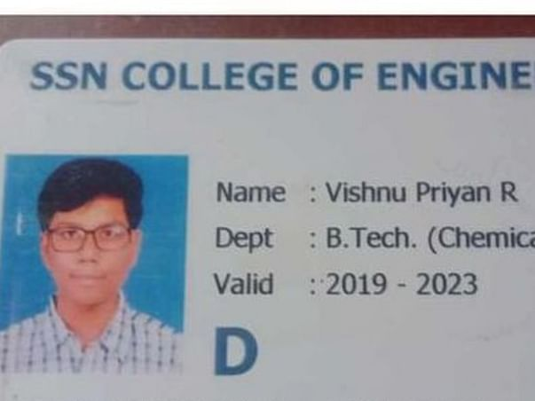 Support The Son Of School Van Driver For College Fee