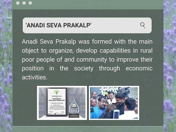 Project Forever Young - Anadi Seva Prakalp