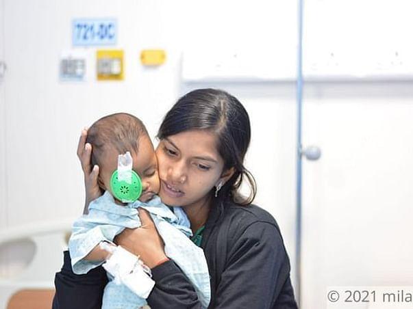 4 Months Old Nithya Kumari Needs Your Help Fight Rhabdomyosarcoma