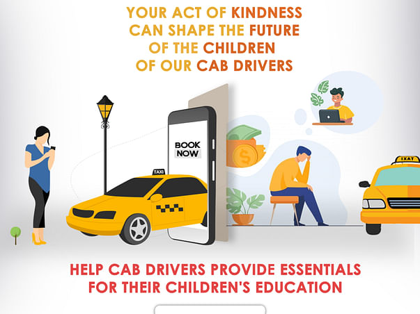 Help Cab Drivers Provide Essentials for their Children's Education