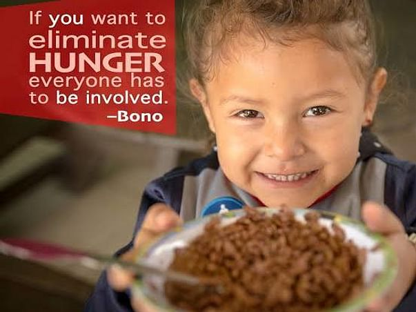 Support For Hunger Relief